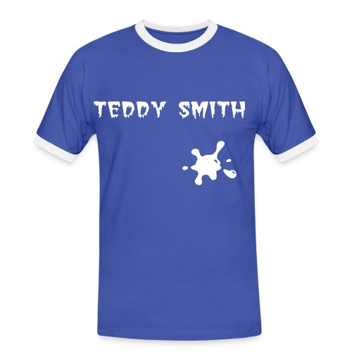 teddy smith - T-shirt contrasté Homme