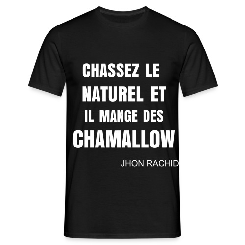 T Shirt Secret Story Du Bled (Noir) - T-shirt Homme