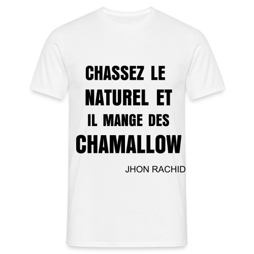 T Shirt Secret Story Du Bled (Blanc) - T-shirt Homme