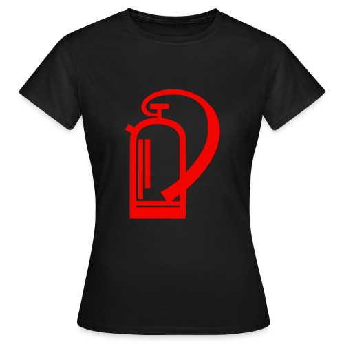 Pompier Femme - T-shirt Femme