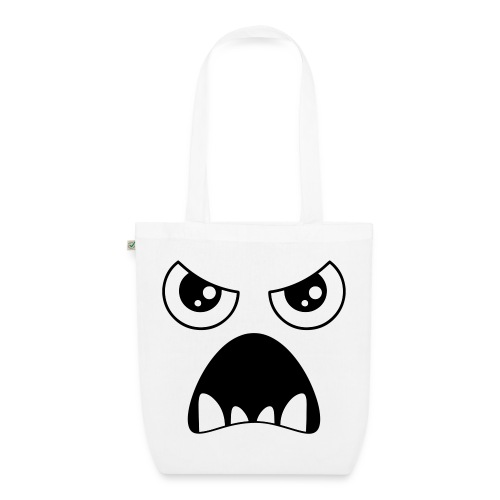evil face - EarthPositive Tote Bag