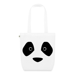 panda face - EarthPositive Tote Bag