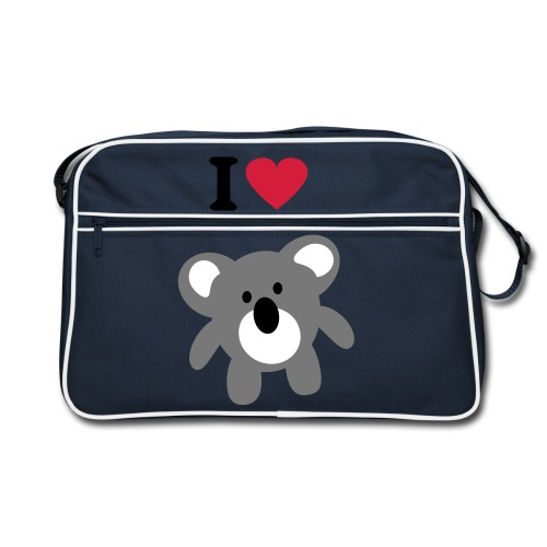 I love Koala bag - Retro Bag