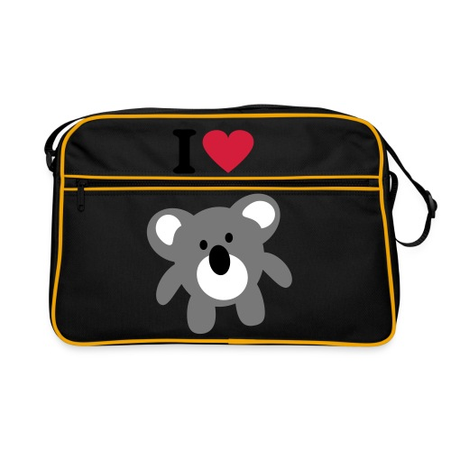 I love Koala bag - Retro Bag