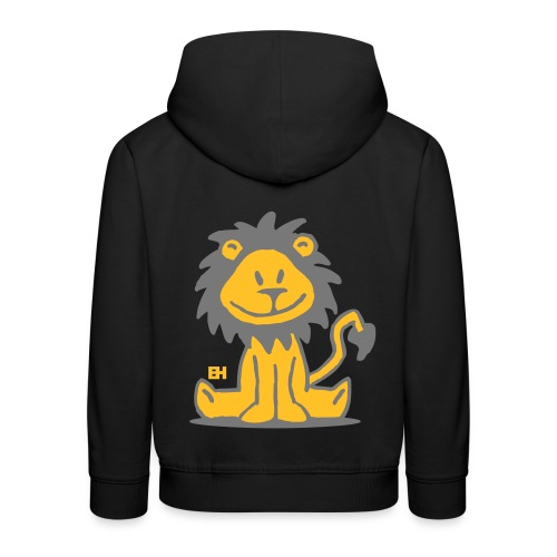 lion - Pull à capuche Premium Enfant