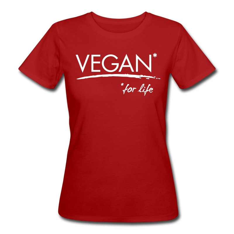 Womens - VEGAN* for life - Frauen Bio-T-Shirt
