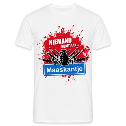 New Kids T-shirt Niemand komt aan Maaskantje! - Mannen T-shirt