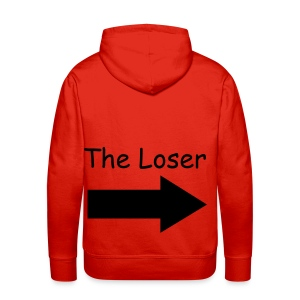 the king V.S. the loser - Mannen Premium hoodie