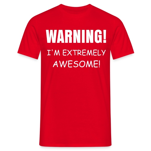 WARNING! - Men's T-Shirt