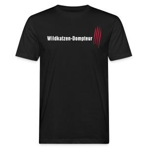 Wildkatzen Dompteur - Männer Bio-T-Shirt