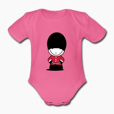 A Royal Guard in London Baby Bodysuits