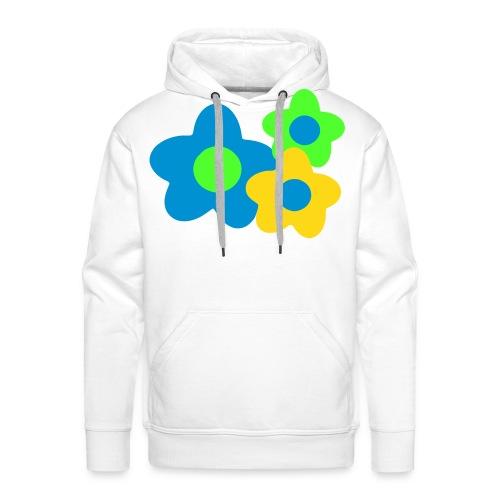 Kwiatuszki - Bluza męska Premium z kapturem