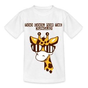 Too cool for the Jungle! - Teenage T-shirt