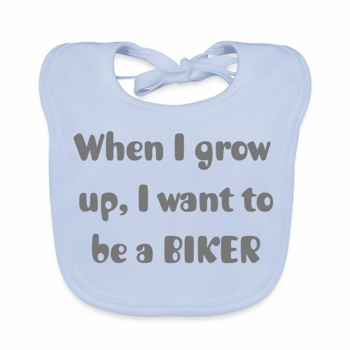 When I grow up - Baby Organic Bib