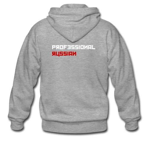 Hoodie Professional Russian - Mannenjack Premium met capuchon