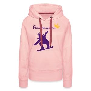 Boarderqueen - Frauen Premium Hoodie