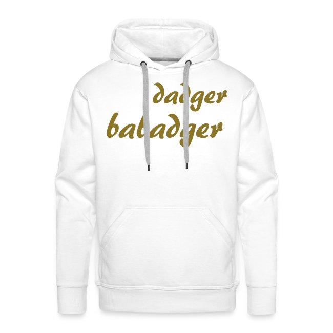Sweat-shirt à capuche homme Dadger babadger