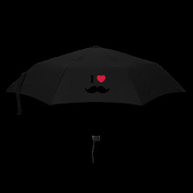 I Love Beards Umbrellas