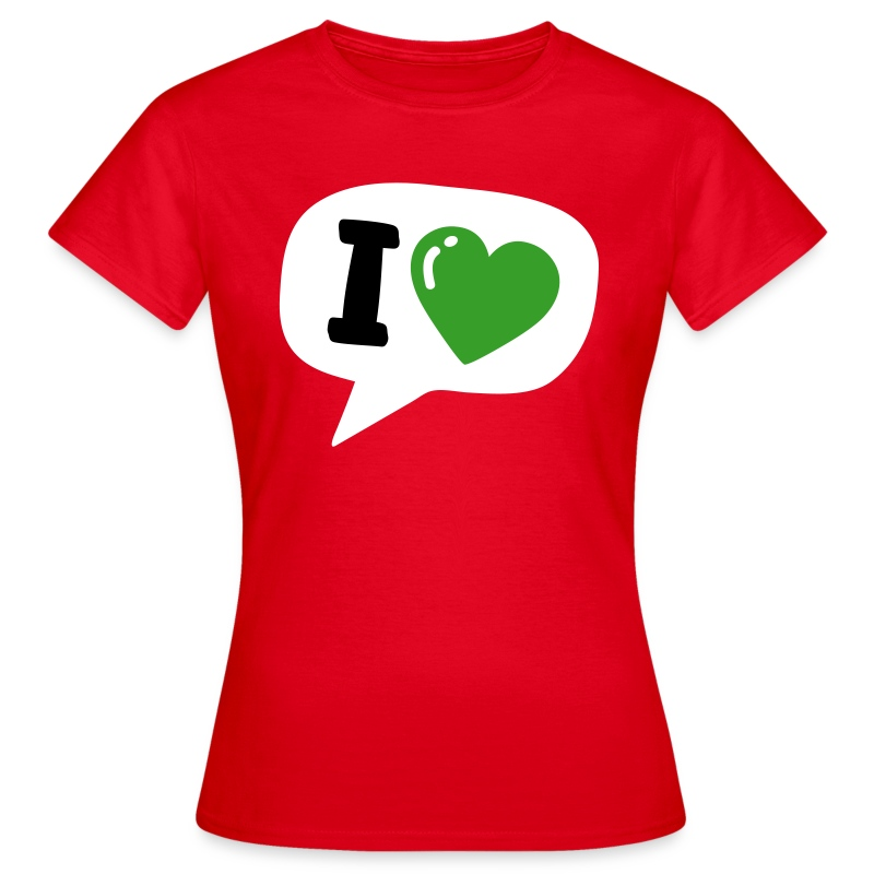 What I Heart - Frauen T-Shirt