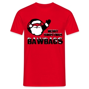 Merry Christmas Bawbags - Men's T-Shirt