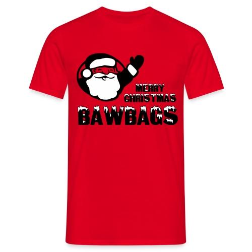 Merry Christmas Bawbags - Men's T-Shirt