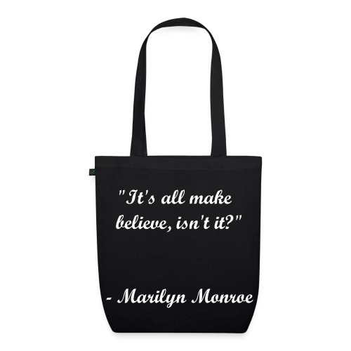 Believe in Marilyn - EarthPositive Tote Bag