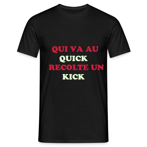 T shirt homme : QUICK - T-shirt Homme