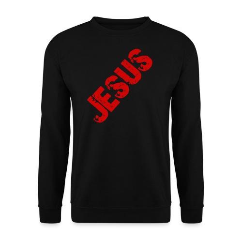 JESUS (rot) - Männer Pullover