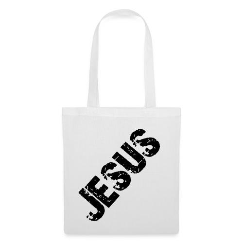 JESUS (schwarz) - Stoffbeutel