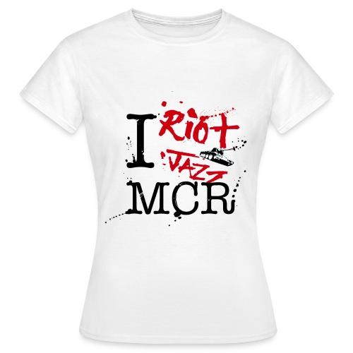 I Riot Jazz MCR - Women's T-Shirt