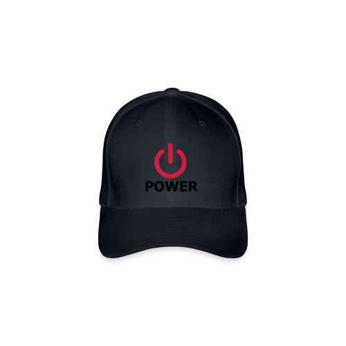 Power - Cappello con visiera Flexfit