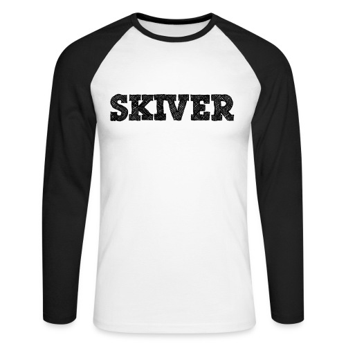 Skiver - Men's Long Sleeve Baseball T-Shirt