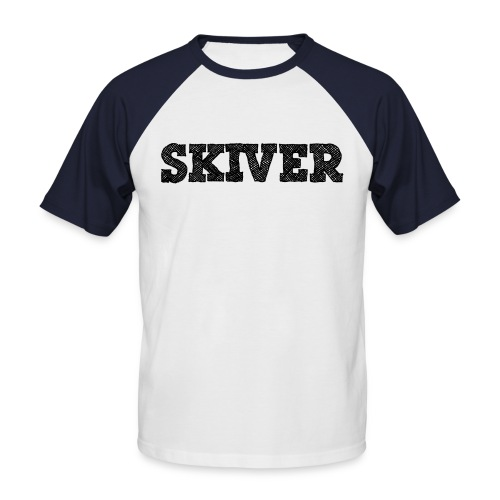 Skiver - Men's Baseball T-Shirt