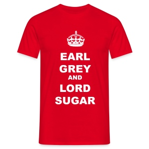 EARL GREY AND LORD SUGAR - Men's T-Shirt