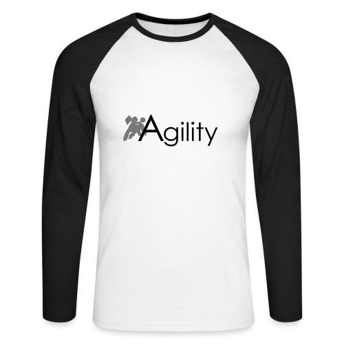 Agility - Männer Baseballshirt langarm