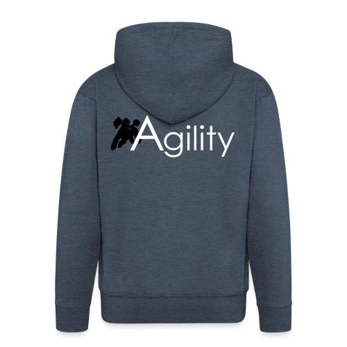 Agility - Männer Premium Kapuzenjacke