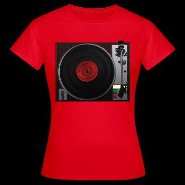 draaitafel, platenspeler T-shirts
