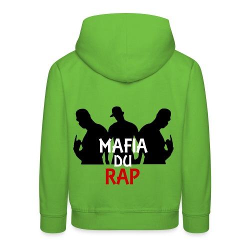 Pull à capuche enfant mafia du rap - Pull à capuche Premium Enfant