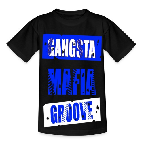 T shirt enfant gangsta mafia groove - T-shirt Ado