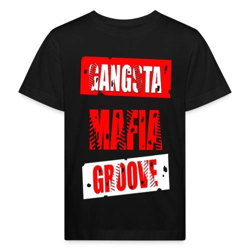 T shirt enfant gangsta mafia groove - T-shirt bio Enfant
