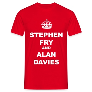 STEPHEN FRY AND ALAN DAVIES - Men's T-Shirt