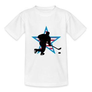 icehockey_star_a_3c Tee shirts Enfants - T-shirt Ado