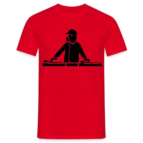Dj Shirt - Turntables - Männer T-Shirt
