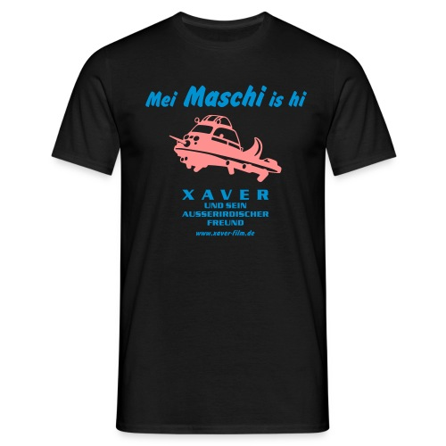 Mei Maschi is hi - Männer T-Shirt