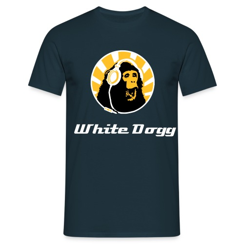 White Dogg moneky tee / TB Limited Edition - Men's T-Shirt