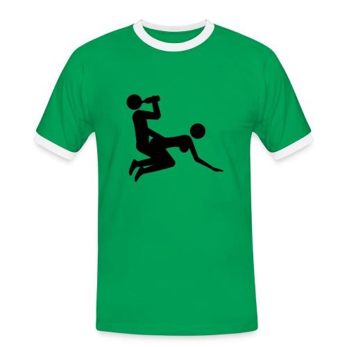 No Work No Fun - Männer Kontrast-T-Shirt