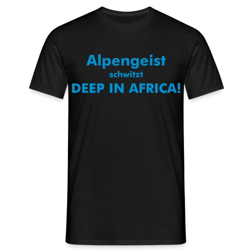 Heiß in Africa - Memmenedition - Männer T-Shirt