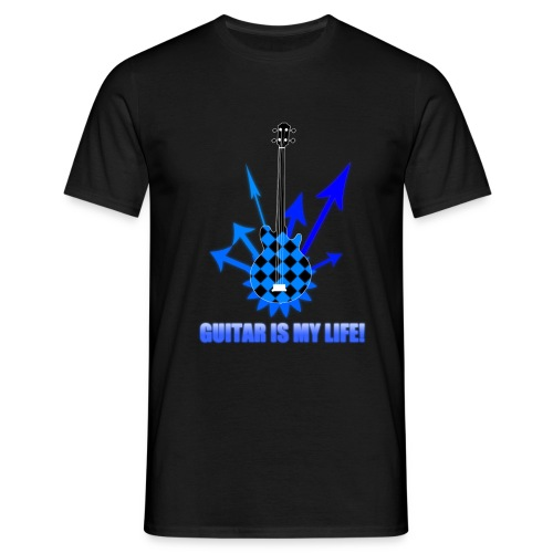 Guitar is my Life - Koszulka męska