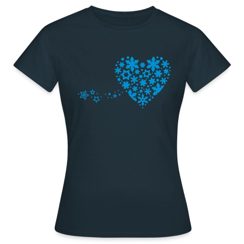 Snowflake Heart - Women's T-Shirt