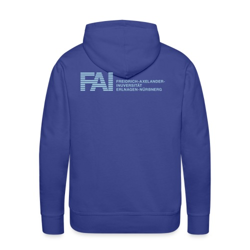 FAI back - Männer Premium Hoodie